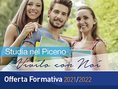 Offerta Formativa 2021/ 2022 – Studia nel Piceno